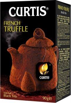 Чай черный байховый со вкусом шоколадного трюфеля Curtis French Truffle 90 г (4823063705363)
