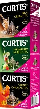 Чайный пакетированный набор Curtis Cocktail Collection ассорти из 3-х видов 15 пирамидок (4823063707831)