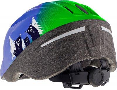 Велосипедний шолом Cairn Sunny Jr XS (48/52 см) Blue-Green (0300129-329-48)