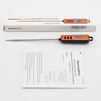 Кухонный цифровой термометр со щупом ThermoPro TP-01A