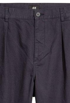Брюки H&M KK4973766 Темно-синие