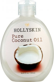Кокосовое масло Hollyskin Pure Coconut Oil 250 мл (4823109700406)