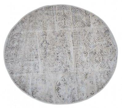 Килимок для ванної Arya Eskitme D-120 см бежевий арт.TR1004842