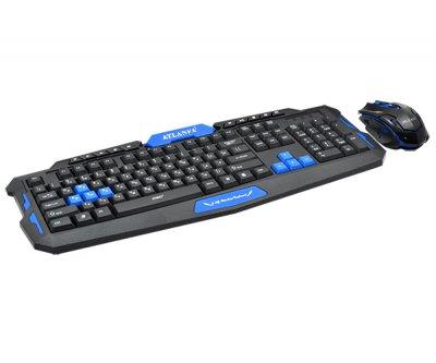 Клавіатура + Мишка Бездротові ATLANFA AT-8100