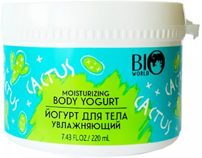 Йогурт для тела Bio World Увлажняющий 220 мл (4815412002537)
