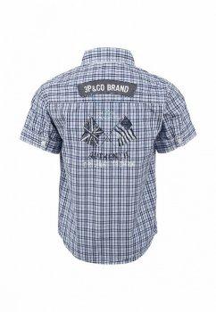 Сорочка для хлопчика 3pommes 12036 синьо-блакитна