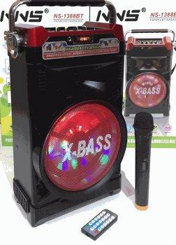 Радіо колонка з мікрофоном NNS RX 1388 BT