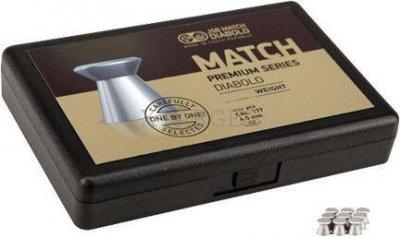 Свинцовые пули JSB Match Premium Heavy 4,5 мм 0,535 г 200 шт (1025-200)