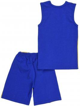 Костюм (майка + шорты) Anmerino Football Синий с желтым