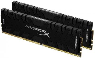 Оперативна пам'ять HyperX DDR4-3200 65536 MB PC4-25600 (Kit of 2x32768) Predator Black (HX432C16PB3K2/64)