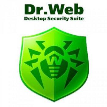 Антивірус Dr. Web Desktop Security Suite + Компл зах/ ЦУ 11 ПК 2 роки ел. осіб (LBW-BC-24M-11-A3)