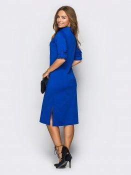 Плаття Dressa 13435 Синє
