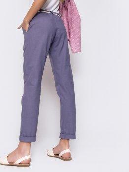 Брюки Dressa 48180 Фиолетовые