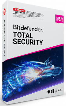 Антивірус Bitdefender Total Security Multi-Device (1 ПК/1 РІК) ESD (DB12011001)