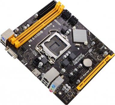 Материнська плата Biostar H61MHV2 (s1155, Intel H61, PCI-Ex16)