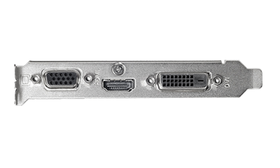 Відеокарта Asus GeForce GT 710 1GB GDDR5 (32bit) (954/5012) (VGA, DVI, HDMI) (GT710-SL-1GD5)