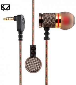 Наушники Knowledge Zenith EDR1 Silver mic (EDR1-mic)