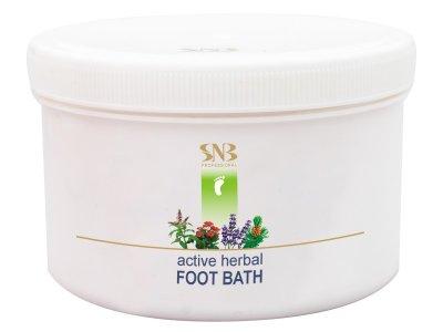 Активная травяная ванна для ног SNB Sample Active Herbal Foot Bath 365 г