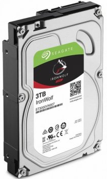 Жорсткий диск (HDD) Seagate IronWolf NAS 5900rpm 64MB (ST3000VN007) (ST3000VN007)