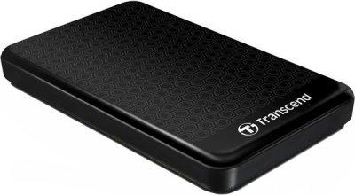 Жорсткий диск (HDD) Transcend Storejet 2TB USB 3.0 Black (TS2TSJ25A3K)