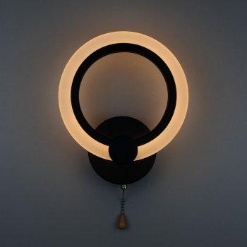 Бра 4light 2374/1 Black LED 18W