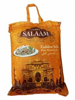 Рис Басмати Salaam India золотой пропаренный 5 кг