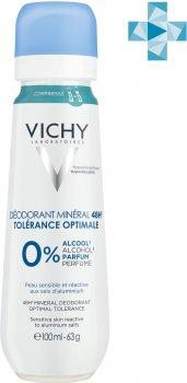 Дезодорант Vichy Deo Минеральный для очень чувствительной кожи 100 мл (3337875712361)