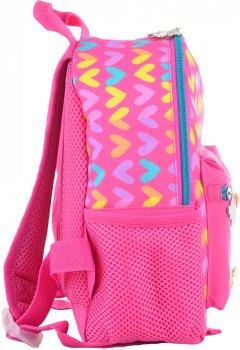 Рюкзак дитячий Yes K-16 Hearts 22.5x18.5x9.5 для дівчинки (554758)