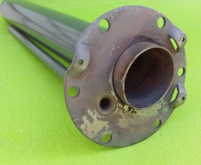 Фланец-колба для бойлера под сухой стеатитовый тэн 2100 W - 2400 W L = 440мм Atlantic Франция