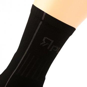 Шкарпетки трекінгові зимові Ярунь середні чорні