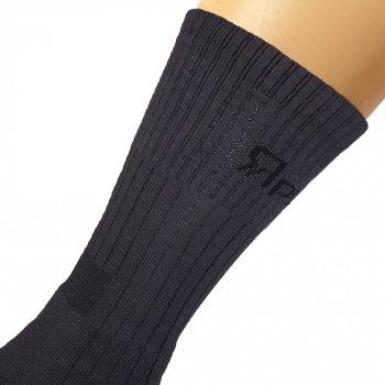 Шкарпетки трекінгові зимові Ярунь Берець високі сірі