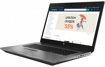 Ноутбук HP ZBook 17 G6 (6CK22AV_V19) Silver