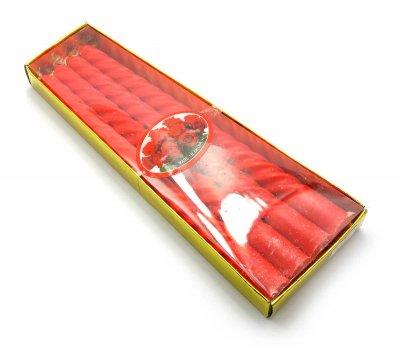 Свічки Червоні (20Х7,5Х2 См) 26977