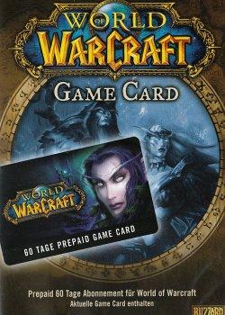 Подписка | Тайм карта Blizzard World of Warcraft на 60 дней