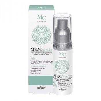 Мезокрем денний для обличчя 40+ Інтенсивне омолодження Белита MEZOcomplex 50 мл (4810151021450)