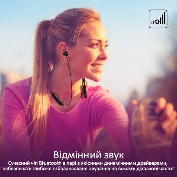 Наушники Promate Bluetooth 5 Bali Black (bali.black)