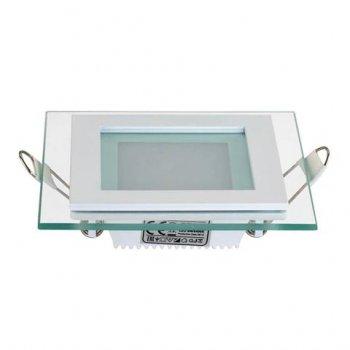 Світильник стельовий світлодіодний LED зі скляним декором Horoz Electric MARIA-6 6W 4200K 016-015-0006
