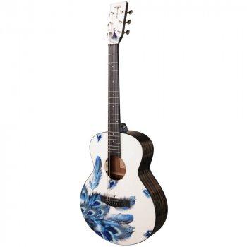 Акустическая гитара Tyma V-3 Plume mini