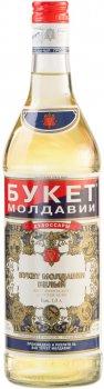 Вино ароматизоване Букет Молдавії Білий біле солодке 16% 1 л (4840006000323)