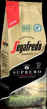 Кава мелена органічний Segafredo Supremo 100% Arabica 200 г (8003410243335)