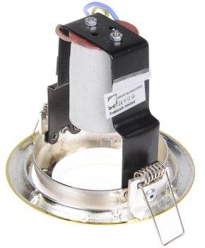 Світильник точковий Brille RO-50A SCHR/G (161241-2) 2 шт.