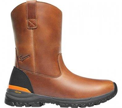 "Мужские сапоги Danner Stronghold 10"" Non-Metallic Wellington Boot Brown Full Grain Leather (134542)"