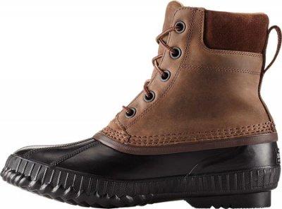Мужские сапоги Sorel Cheyanne II Lace Snow Boot Tobacco/Black Full Grain Leather (107859)