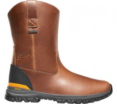 "Мужские сапоги Danner Stronghold 10"" Waterproof Wellington Boot Brown Full Grain Leather (144373)"