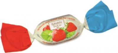 Карамель Bayan Sulu BS со вкусом клубники и сливок 1 кг (4870200147241)