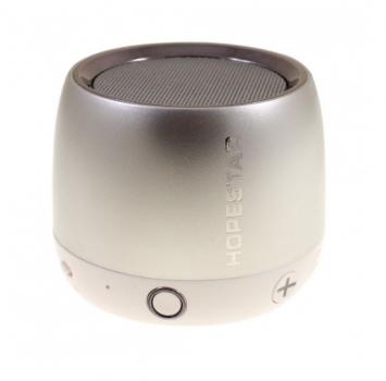 Беспроводная колонка Hopestar H17 аккумуляторная + Bluetooth 4.0, встроенное радио и поддержка MP3, WMA Серая (11330)