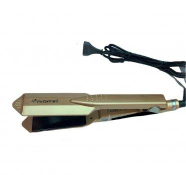 Плойка ProGemei GM-2817 для выравнивания волос с регулируемой температурой Золотистая (11407)