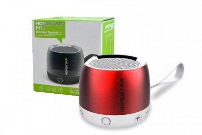 Беспроводная колонка Hopestar H17 аккумуляторная + Bluetooth 4.0, встроенное радио и поддержка MP3, WMA Красная (11327)