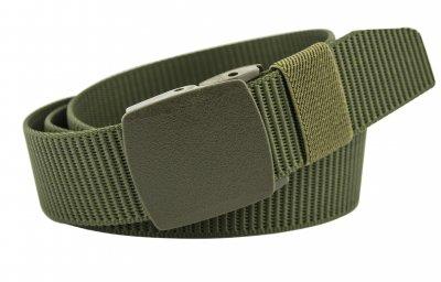 Мужской тактический ремень NA 4 см для джинсов зеленый 110-135 см (NA1653)
