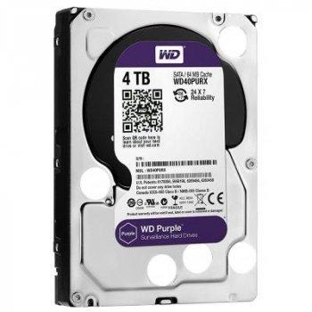 """Жорстку диск 3.5"""" 4TB WD (WD40PURZ)"""